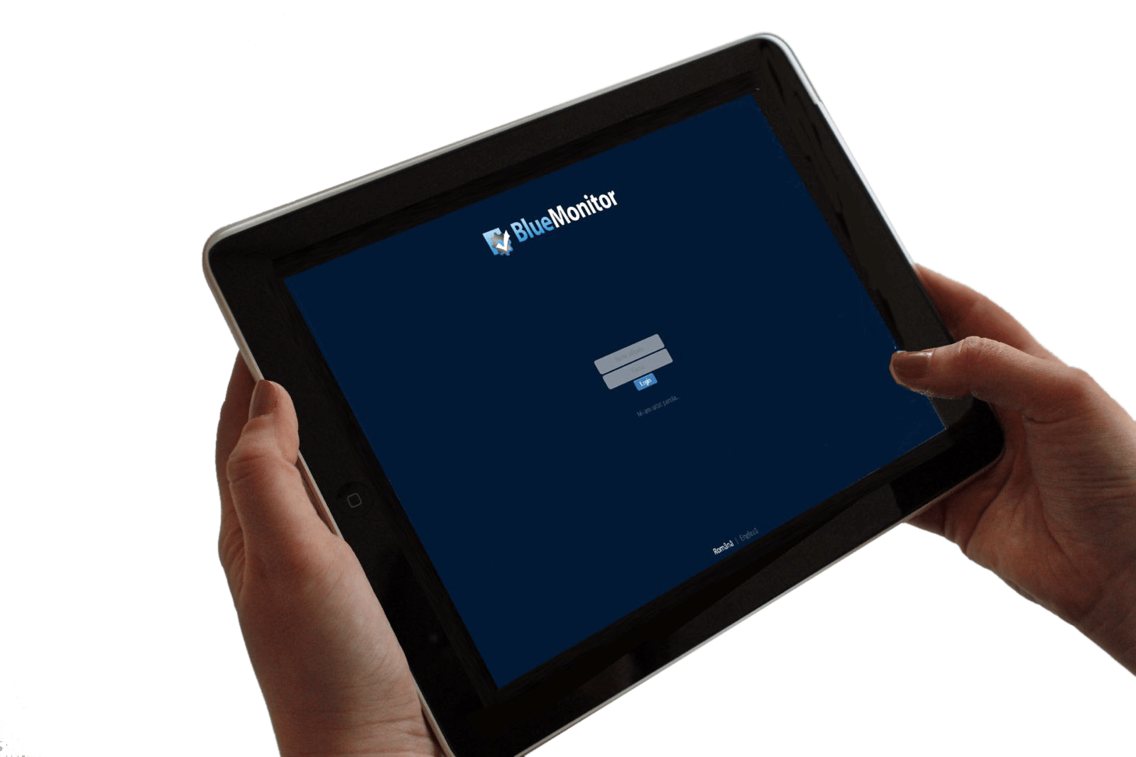 BlueMonitor SCADA_interfata Web de monitorizare