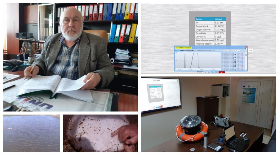 Sistem BlueMonitor de tele-medicina pentru pesti realizat impreuna cu cercetatorii de la Galati