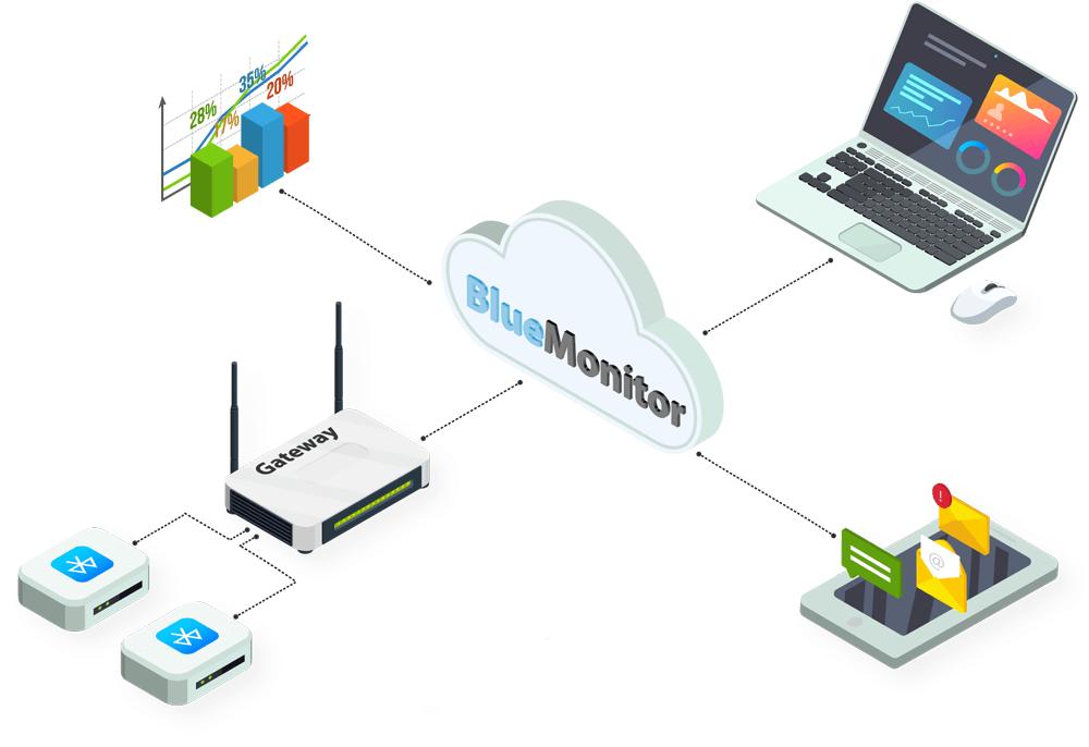 Sistem monitorizare repartitie caldura BlueMonitor